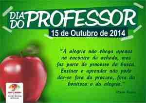 Cartão dia do Professor