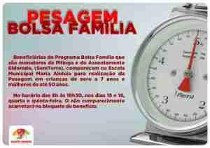 Pessagem Bolsa Familia site