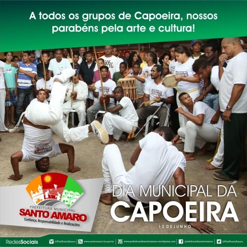 DIA MUNICIPAL DA CAPOEIRA